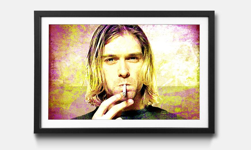 Der gerahmte Kunstdruck Kurt