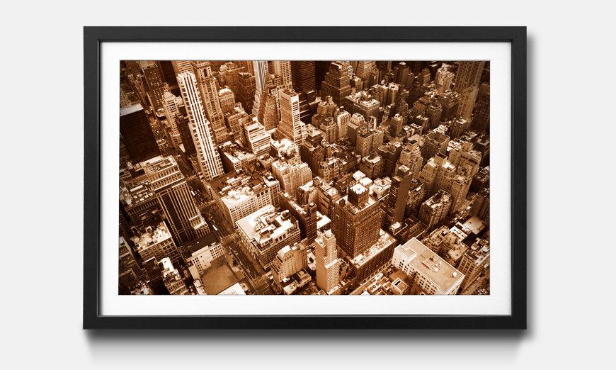 Der gerahmte Kunstdruck New York City