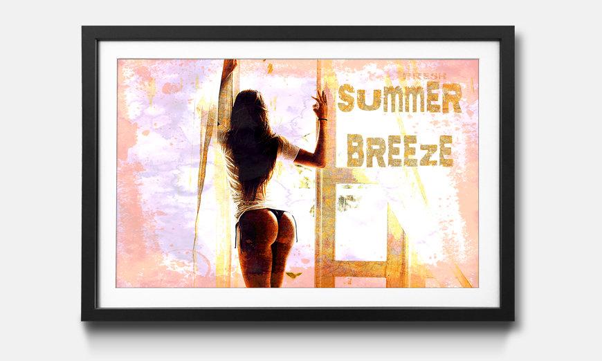 Der gerahmte Kunstdruck Summer Breeze
