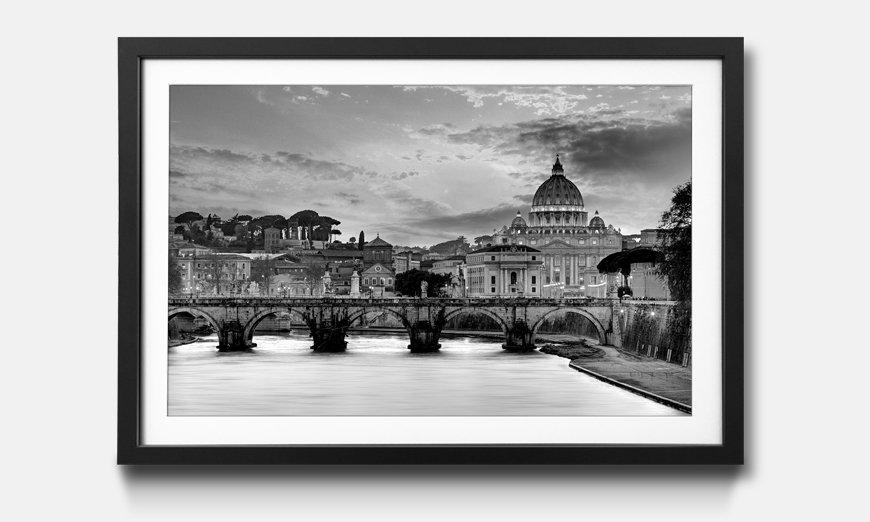 Der gerahmte Kunstdruck Vatican