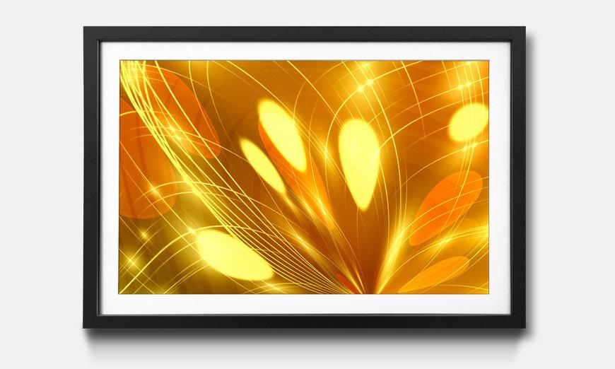 Kunstdruck gerahmt: Abstract Lights