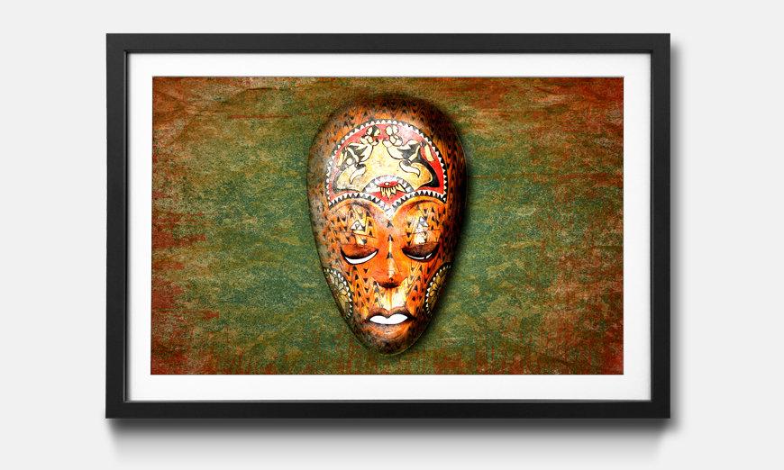 Kunstdruck gerahmt: Afro Dream