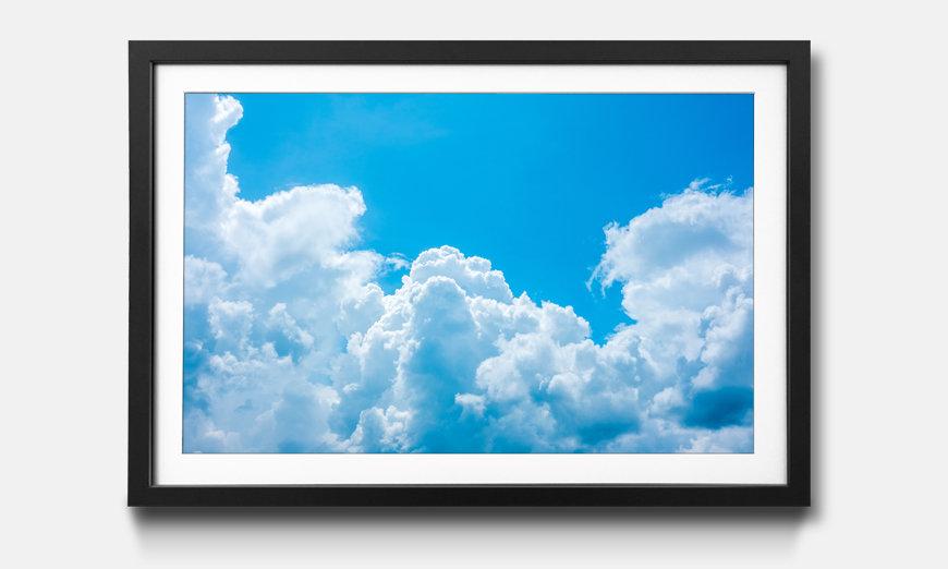 Kunstdruck gerahmt: Clouds