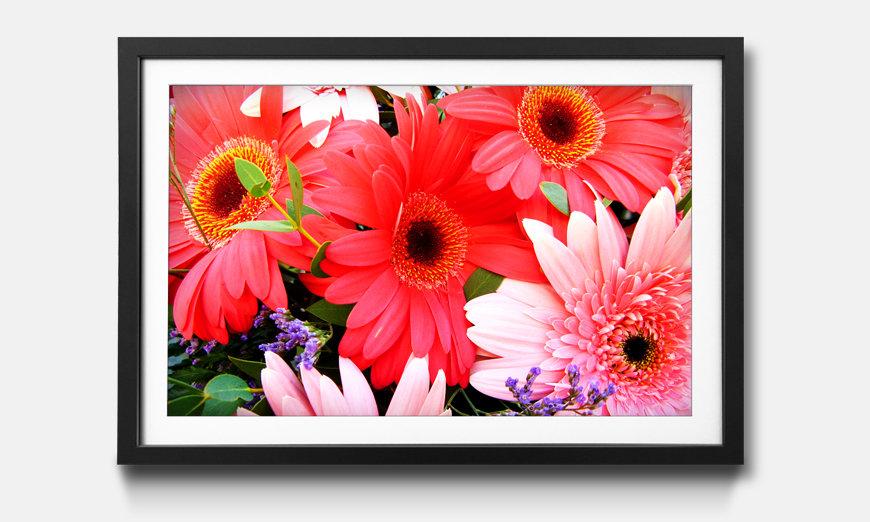 Kunstdruck gerahmt: Flowery Scent