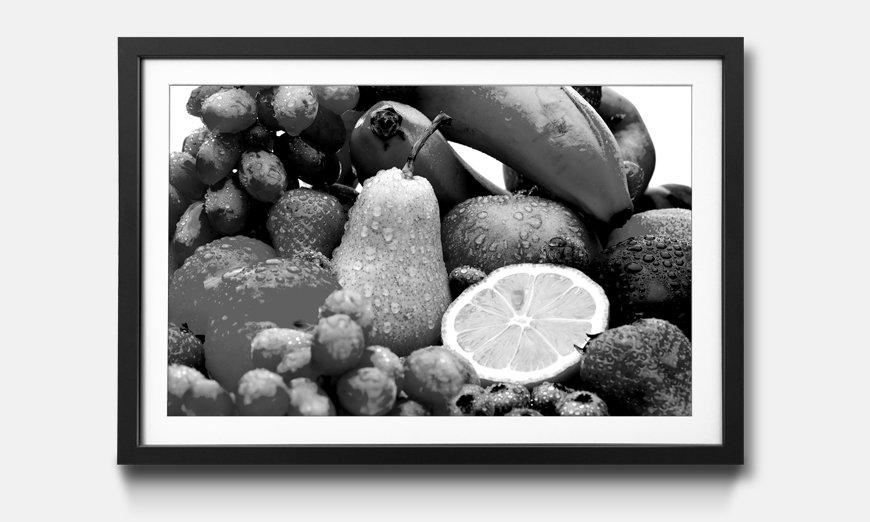 Kunstdruck gerahmt: Fruits