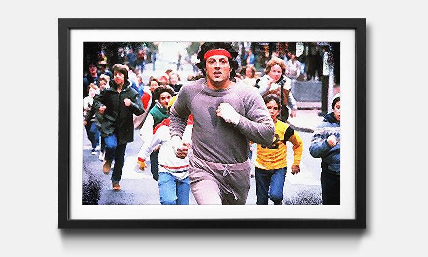 Kunstdruck gerahmt: Rocky Run