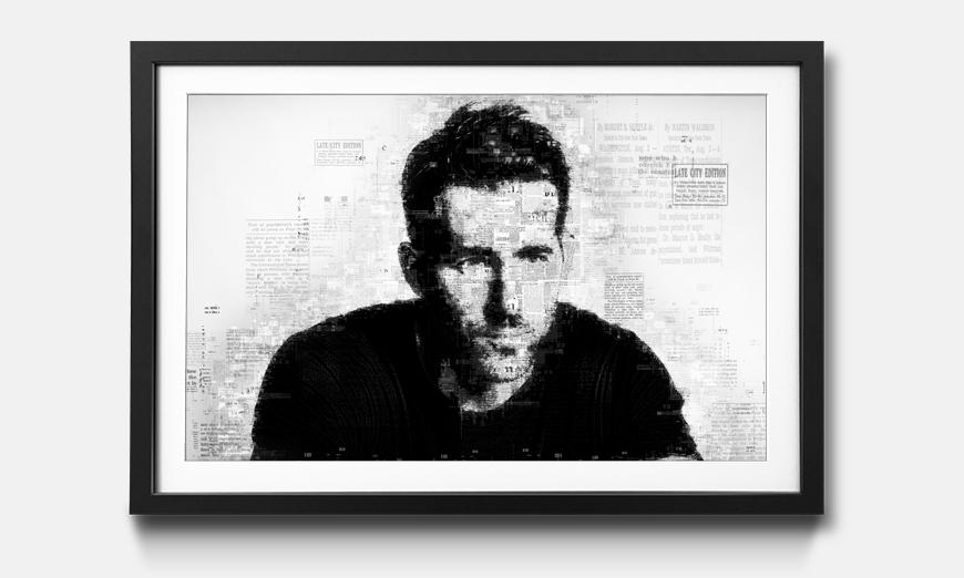 Kunstdruck gerahmt: Ryan R.