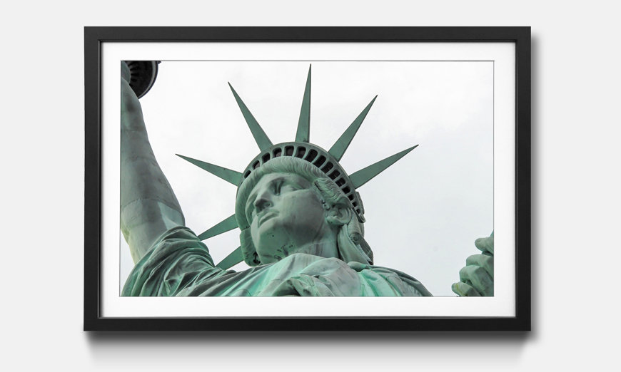 Kunstdruck gerahmt Statue Of Liberty