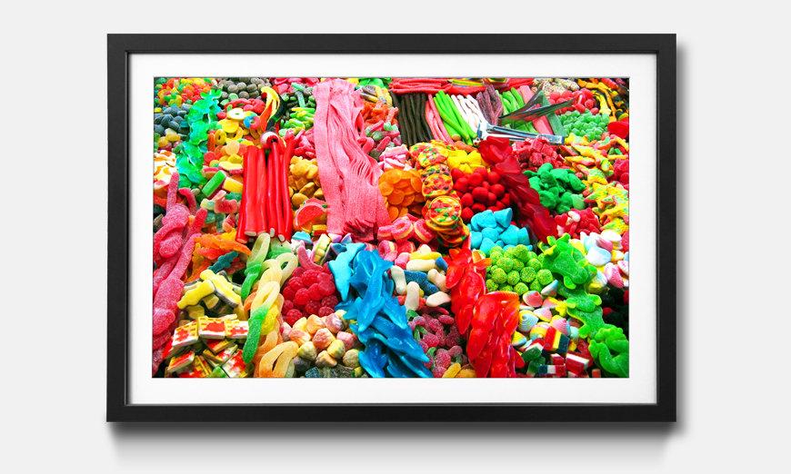 Kunstdruck gerahmt: Sweets