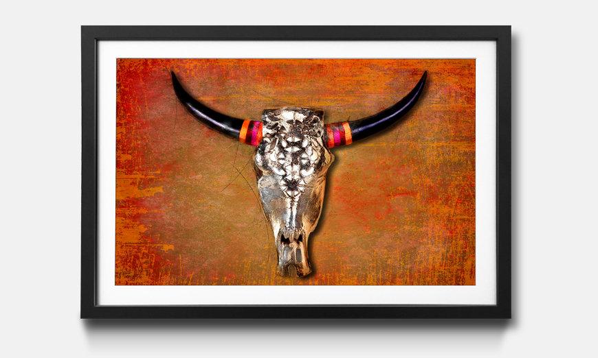 Kunstdruck gerahmt: The Mexican