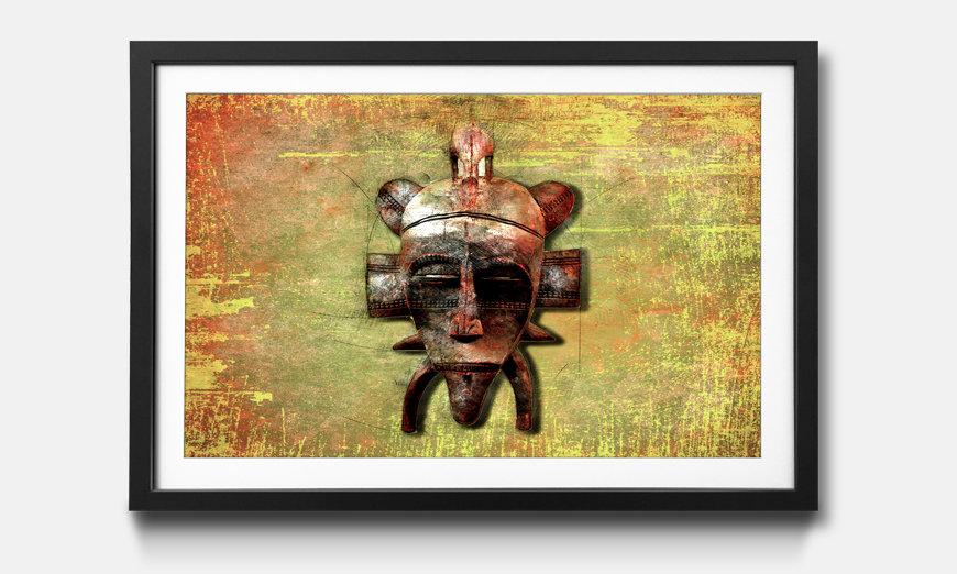 Kunstdruck gerahmt: Tribe Lord