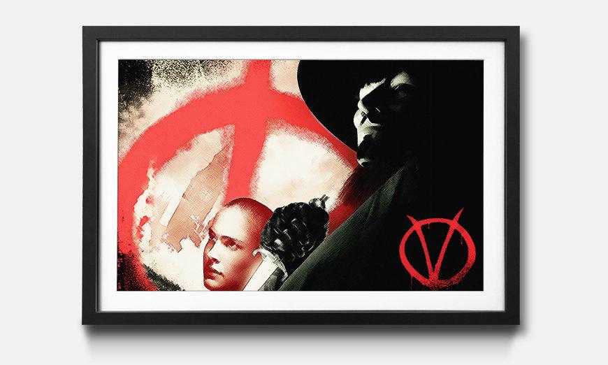 Kunstdruck gerahmt: Vendeta