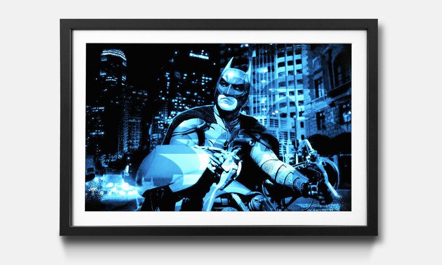 Wandbild gerahmt: Batman
