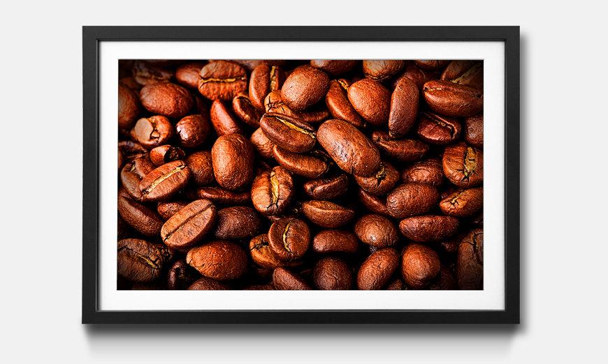 Wandbild gerahmt: Coffee