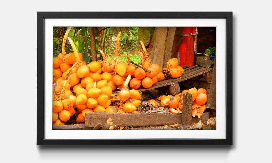 Wandbild gerahmt: Fruit Moment