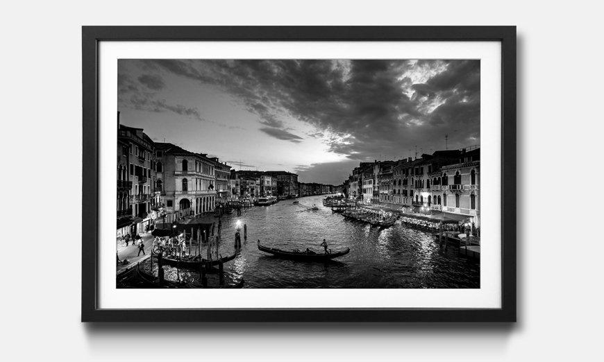 Wandbild gerahmt: Grand Canal