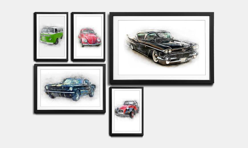 Rahmen-Set Cars