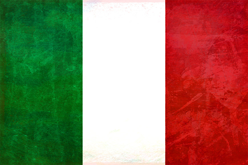 Die Tapete Italien