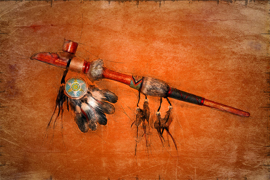 Die Tapete Pipe Of Peace