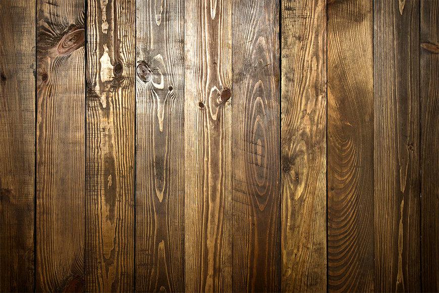 Die Vlies Foto-Tapete Brown Wood