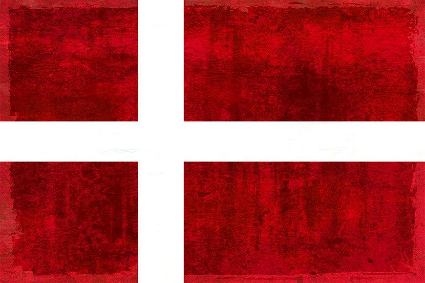 Die Vlies Foto-Tapete Dänemark