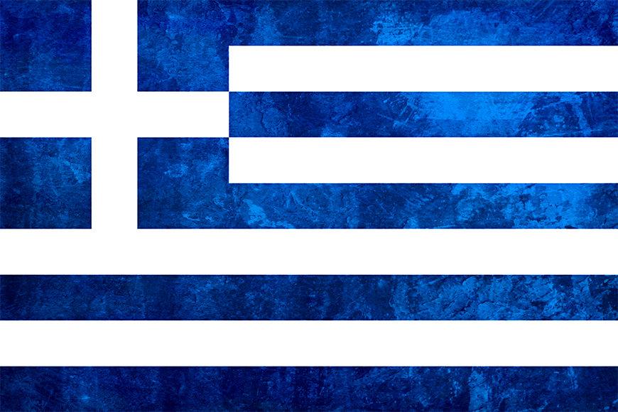 Die Vlies Foto-Tapete Griechenland