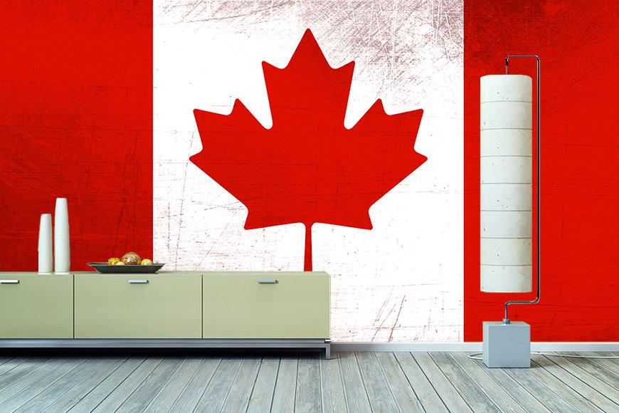 Die Vlies Foto-Tapete Kanada - Wandbilder XXL