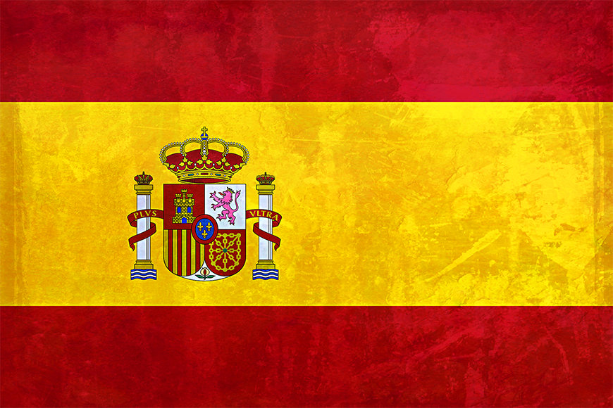 Die Vlies Foto-Tapete Spanien