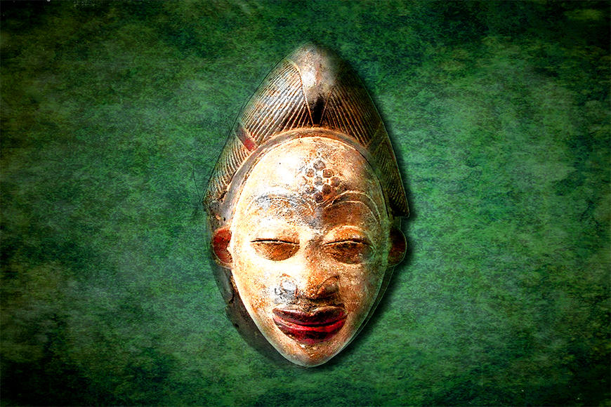 Die Vlies Fototapete African Head