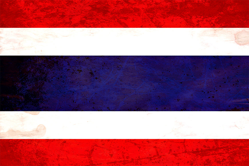 Die Vlies Fototapete Thailand