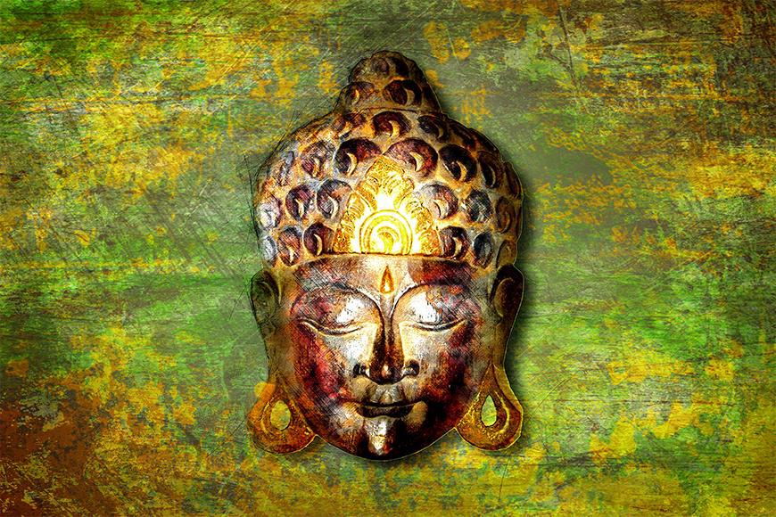 Die Vliestapete Buddah