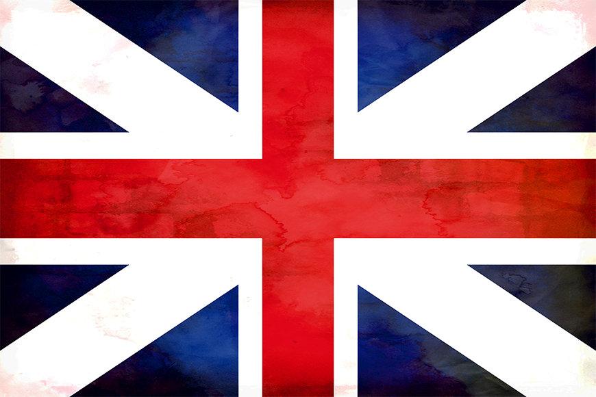 Die Vliestapete Großbritannien