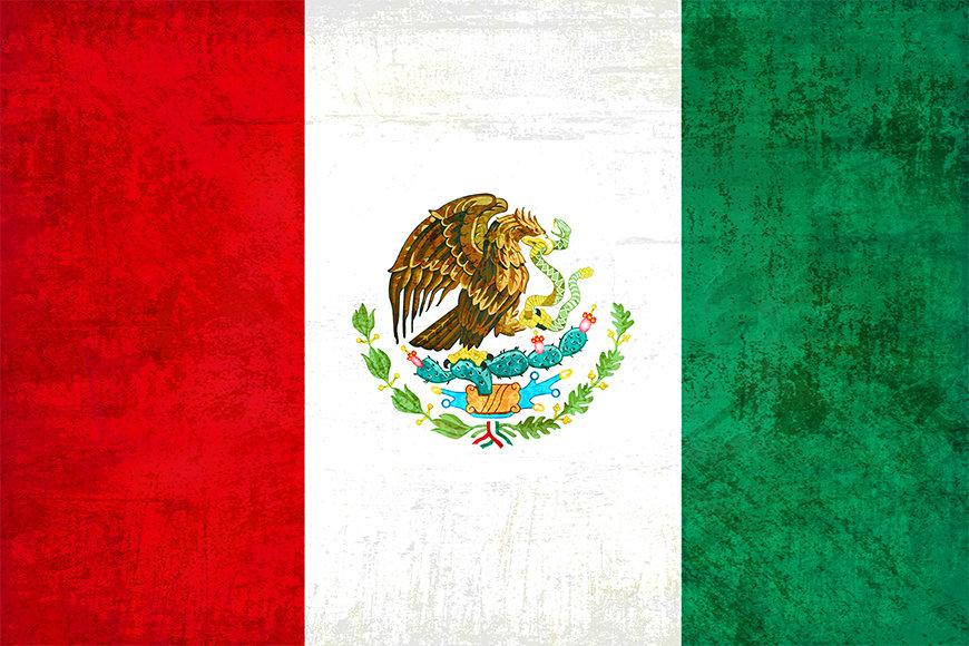 Die Vliestapete Mexiko