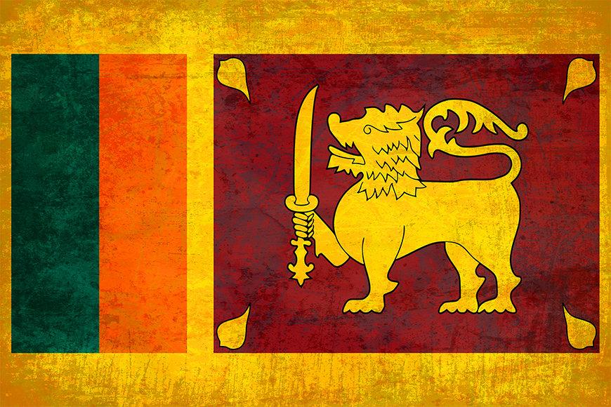 Die Vliestapete Sri Lanka