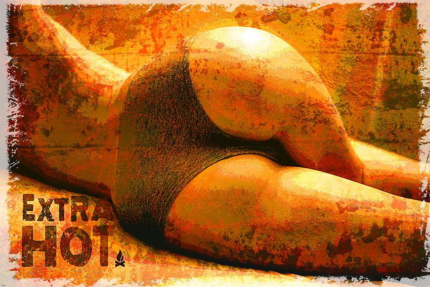 Erotiktapete Extra Hot ab 120x80cm