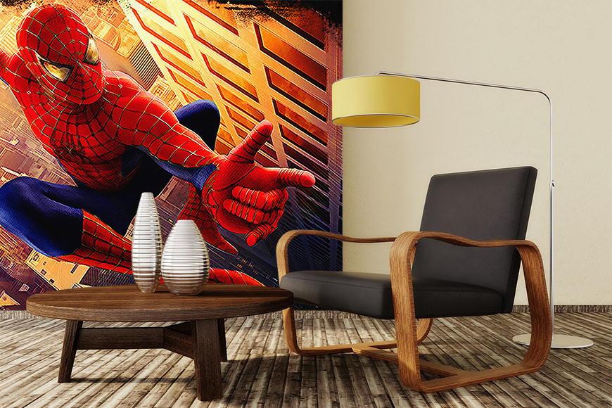 vlies fototapete spiderman ab 120x80cm ebay. Black Bedroom Furniture Sets. Home Design Ideas