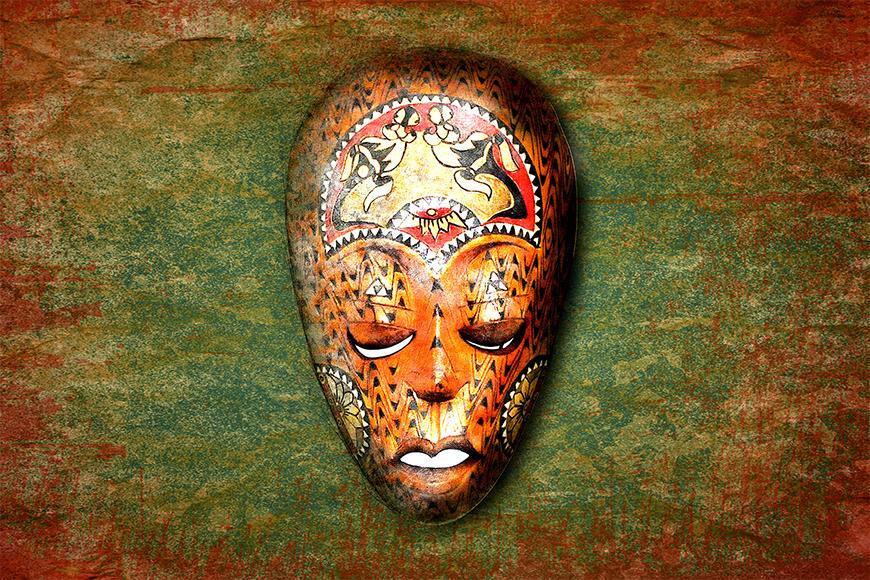 Unsere Vliestapete Afro Dream