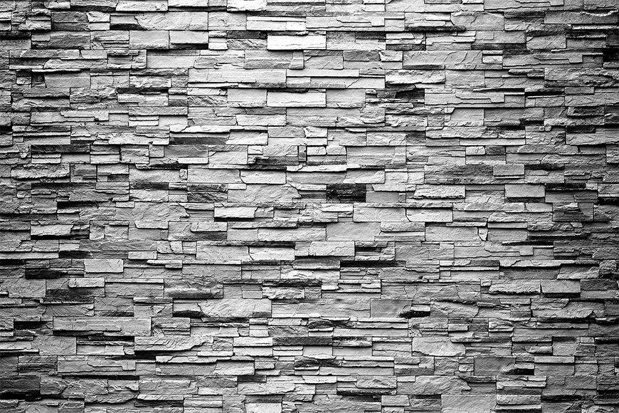 Unsere Vliestapete Grey Wall