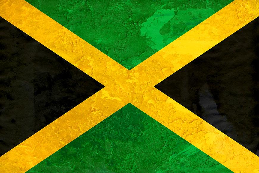 Unsere Vliestapete Jamaika