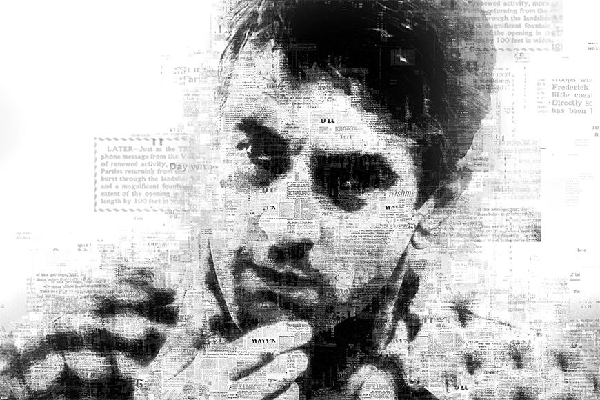 Vlies Fototapete De Niro ab 120x80cm