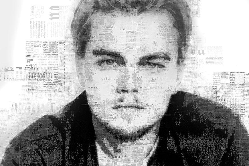 Vlies Fototapete DiCaprio ab 120x80cm