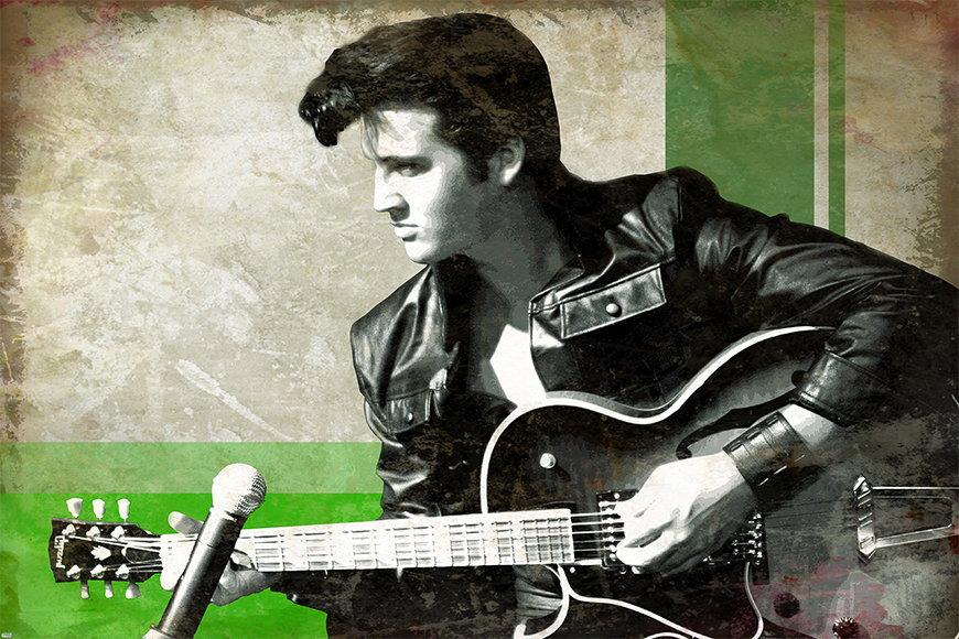 Vlies Fototapete Elvis ab 120x80cm