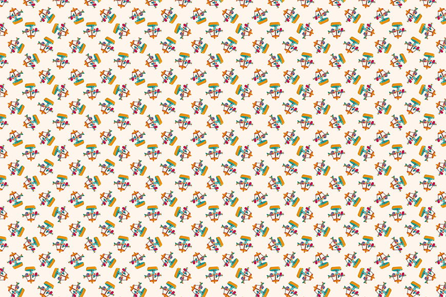 Vlies Fototapete Karusell ab 120x80cm