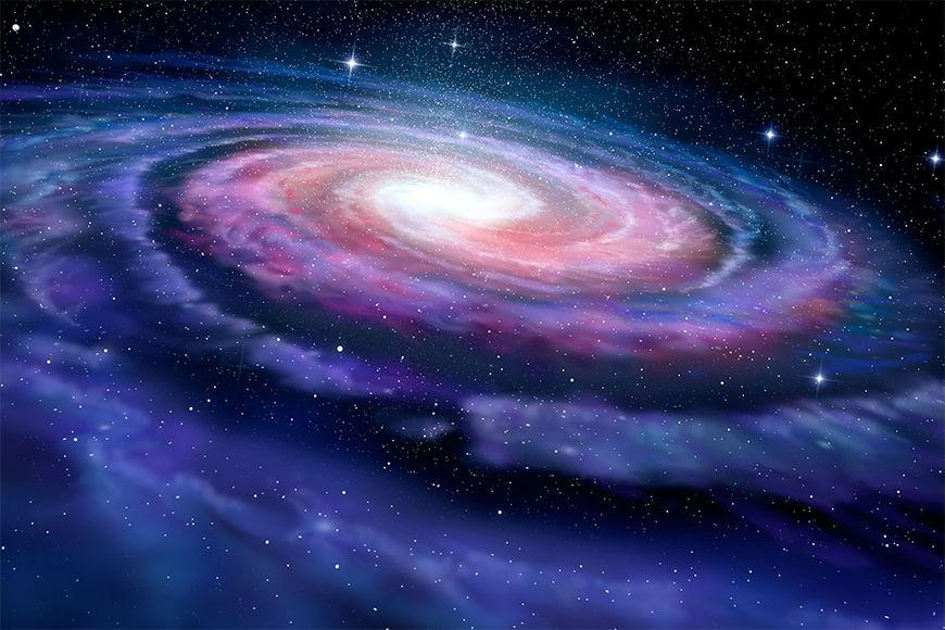 Vlies Fototapete Magic Galaxy ab 120x80cm