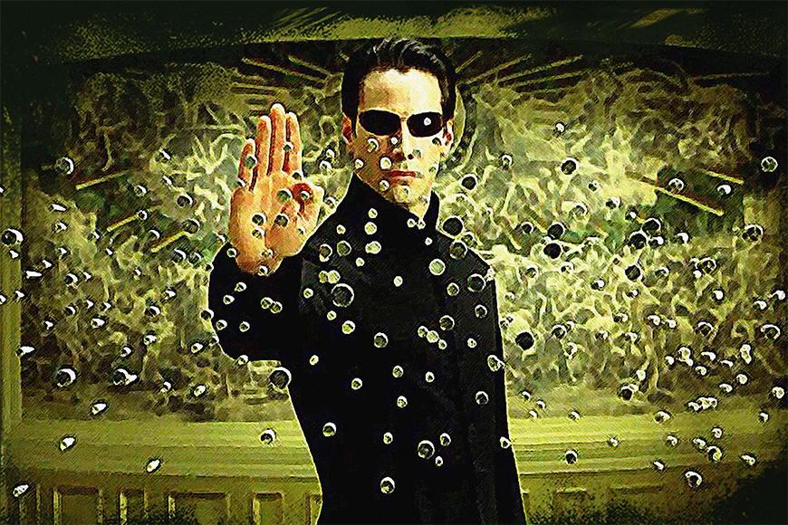 Vlies Fototapete Matrix ab 120x80cm