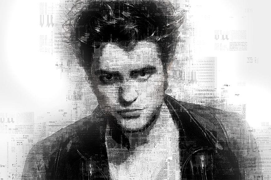 Vlies Fototapete Pattinson ab 120x80cm