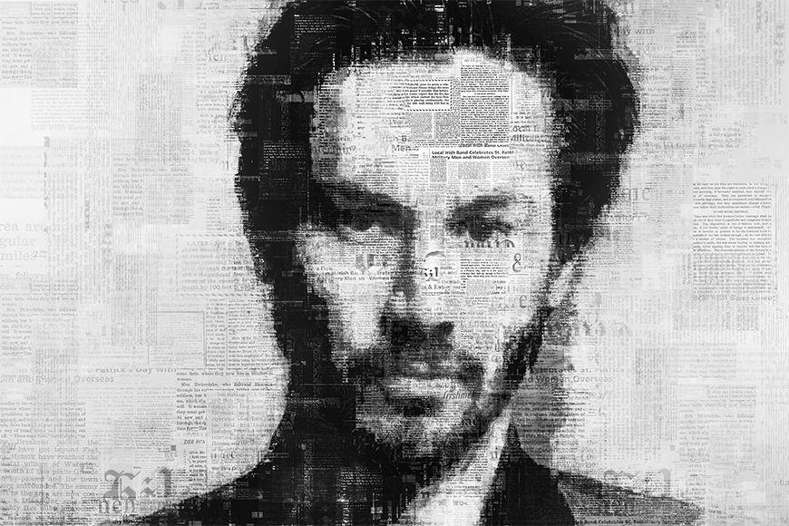 Vlies Fototapete Reeves ab 120x80cm
