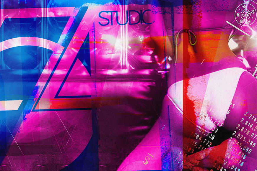 Vlies Fototapete Studio 54 ab 120x80cm