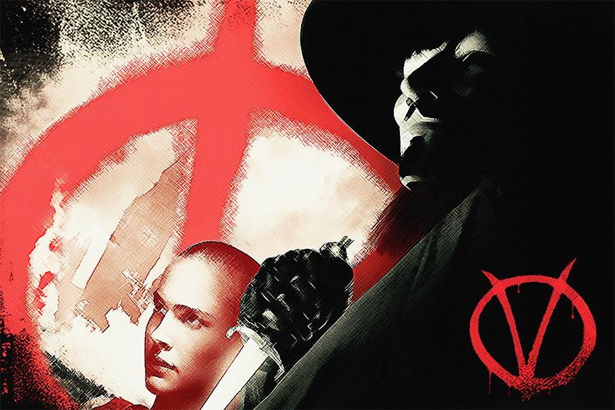 Vlies Fototapete Vendetta ab 120x80cm
