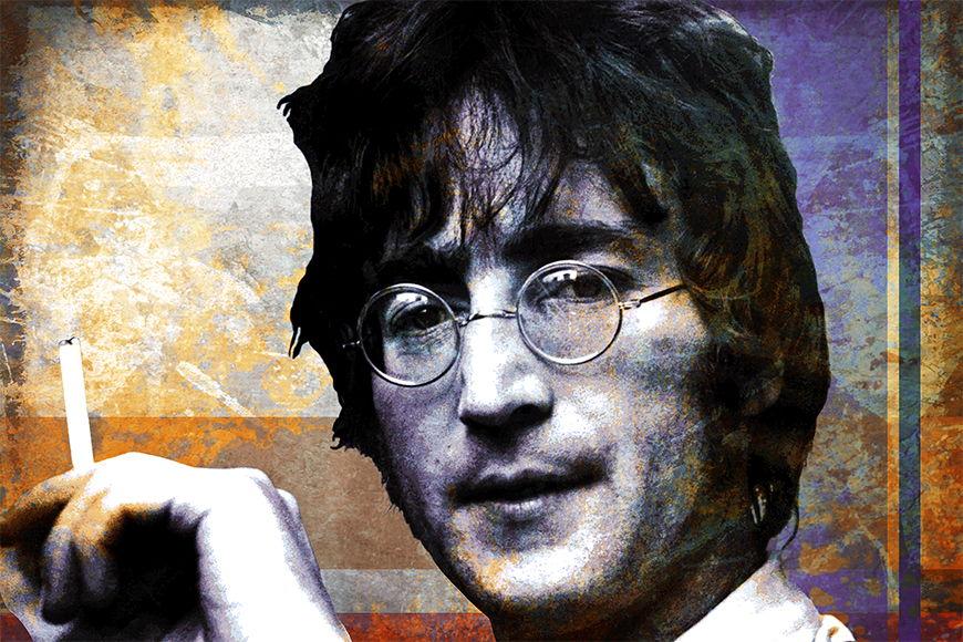 Vlies-Tapete Lennon in S bis XXL